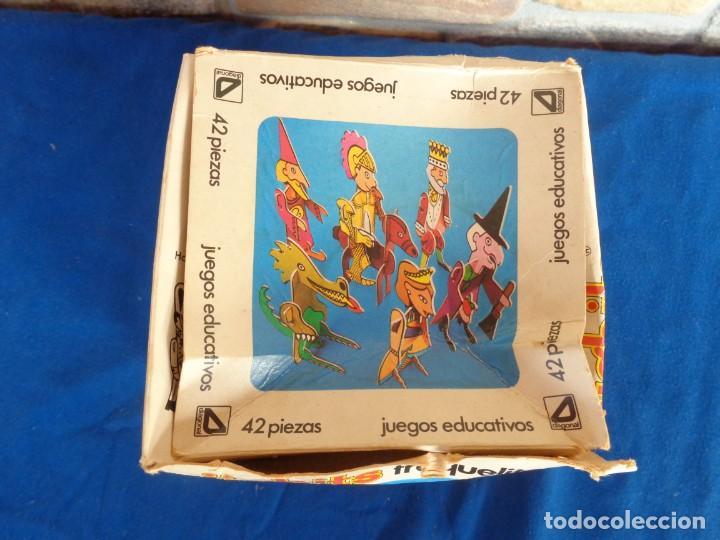 Juegos educativos: JIGBITS TROQUELITOS - JUEGO EDUCATIVO TEMÁTICA CUENTOS,AÑO 1975 DIAGONAL MADE IN SPAIN VER FOTOS! SM - Foto 16 - 133584534