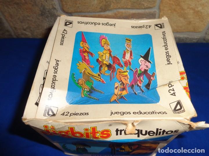 Juegos educativos: JIGBITS TROQUELITOS - JUEGO EDUCATIVO TEMÁTICA CUENTOS,AÑO 1975 DIAGONAL MADE IN SPAIN VER FOTOS! SM - Foto 17 - 133584534