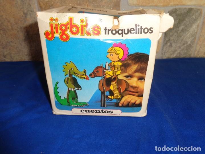 Juegos educativos: JIGBITS TROQUELITOS - JUEGO EDUCATIVO TEMÁTICA CUENTOS,AÑO 1975 DIAGONAL MADE IN SPAIN VER FOTOS! SM - Foto 18 - 133584534