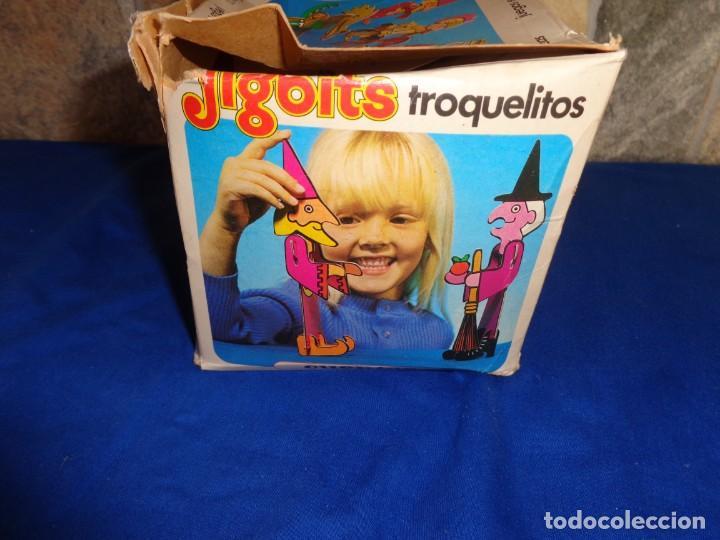 Juegos educativos: JIGBITS TROQUELITOS - JUEGO EDUCATIVO TEMÁTICA CUENTOS,AÑO 1975 DIAGONAL MADE IN SPAIN VER FOTOS! SM - Foto 19 - 133584534