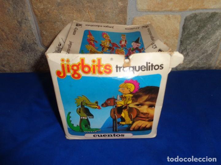 Juegos educativos: JIGBITS TROQUELITOS - JUEGO EDUCATIVO TEMÁTICA CUENTOS,AÑO 1975 DIAGONAL MADE IN SPAIN VER FOTOS! SM - Foto 22 - 133584534
