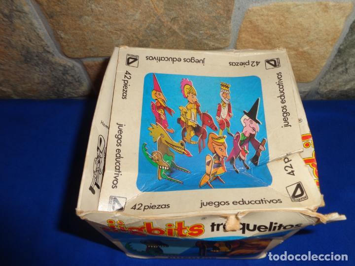 Juegos educativos: JIGBITS TROQUELITOS - JUEGO EDUCATIVO TEMÁTICA CUENTOS,AÑO 1975 DIAGONAL MADE IN SPAIN VER FOTOS! SM - Foto 24 - 133584534