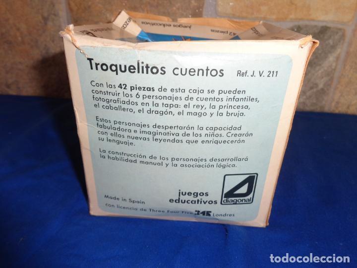 Juegos educativos: JIGBITS TROQUELITOS - JUEGO EDUCATIVO TEMÁTICA CUENTOS,AÑO 1975 DIAGONAL MADE IN SPAIN VER FOTOS! SM - Foto 27 - 133584534