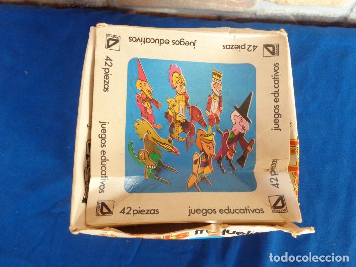 Juegos educativos: JIGBITS TROQUELITOS - JUEGO EDUCATIVO TEMÁTICA CUENTOS,AÑO 1975 DIAGONAL MADE IN SPAIN VER FOTOS! SM - Foto 32 - 133584534