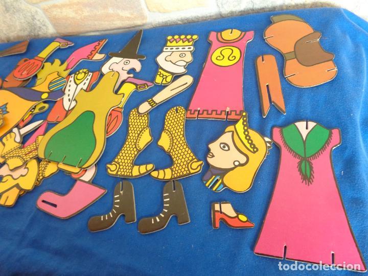 Juegos educativos: JIGBITS TROQUELITOS - JUEGO EDUCATIVO TEMÁTICA CUENTOS,AÑO 1975 DIAGONAL MADE IN SPAIN VER FOTOS! SM - Foto 36 - 133584534