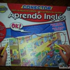Juegos educativos: APRENDO INGLES CONECTOR. Lote 133674338