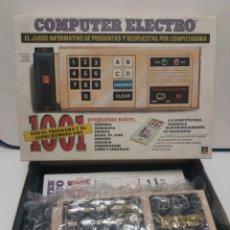 Juegos educativos: JUEGO COMPUTER ELECTRO DE DISET. Lote 133680062