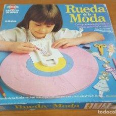 Juegos educativos: BREKAR. RUEDA DE LA MODA. AÑOS 80. Lote 133695906