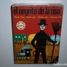Juegos educativos: JUEGO DE CARTAS EL NEGRITO DE LA RISA - EDUCA. Lote 133791718