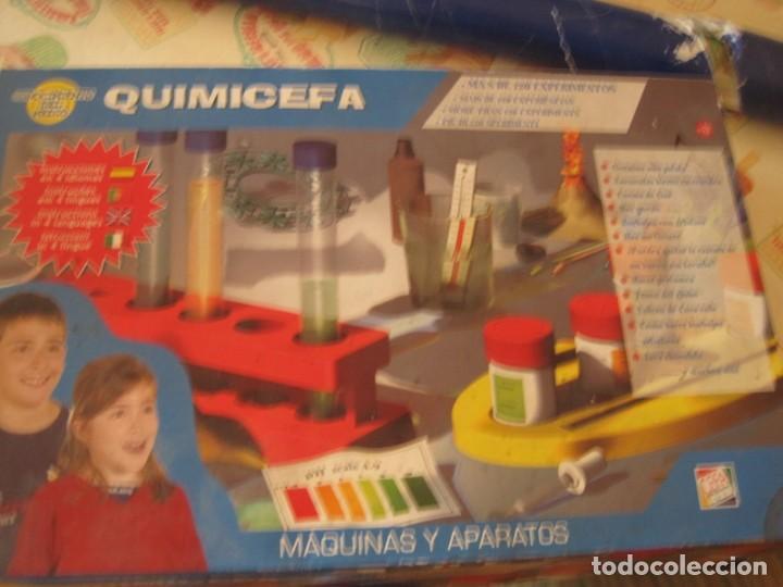 JUEGO QUIMICEFA TOYS ( SIN ABRIR) (Juguetes - Juegos - Educativos)