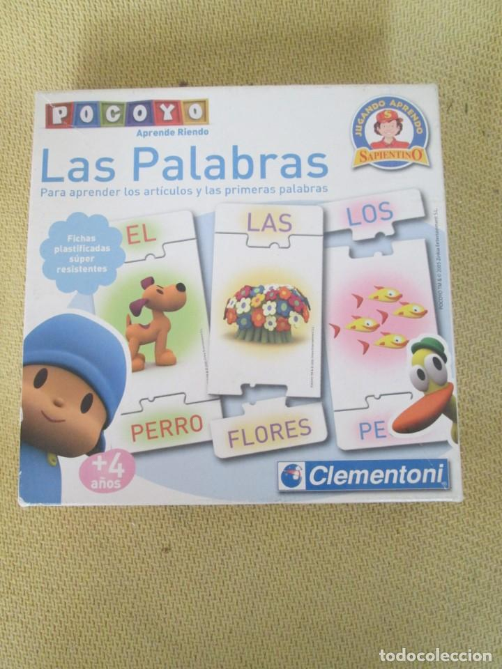 POCOYO APRENDE RIENDO. LAS LETRAS, PARA JUGAR CON LETRAS Y PALABRAS (Juguetes - Juegos - Educativos)