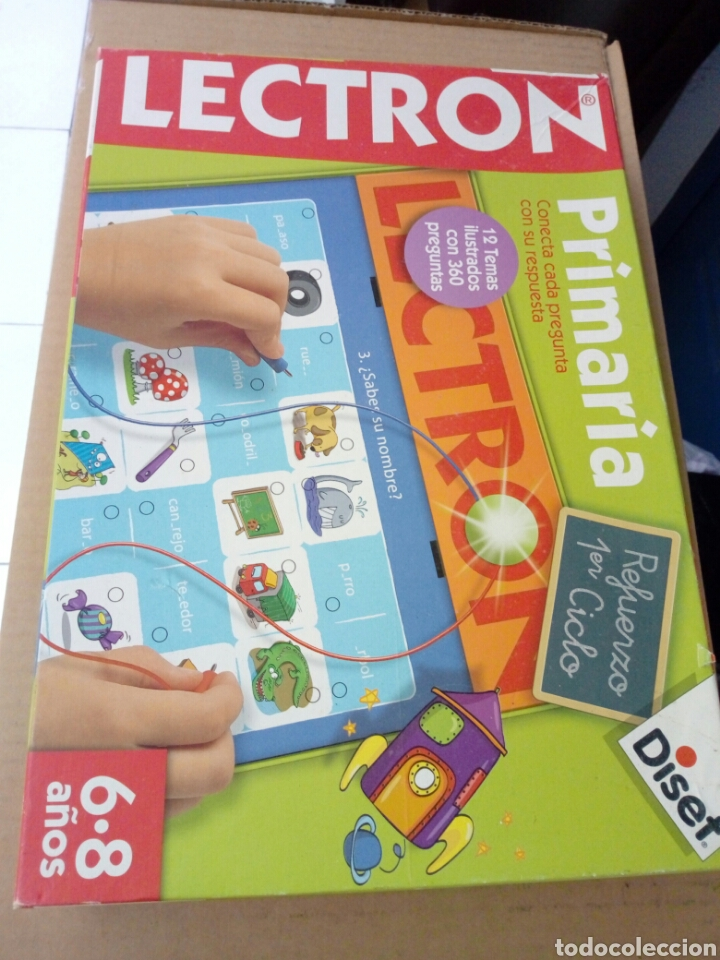 Juegos educativos: JUEGO EDUCATIVO LECTRON PRIMARIA DISET - Foto 2 - 140122082