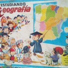 Juegos educativos: JUEGO ANTIGUO ESTUDIANDO GEOGRAFÍA. Lote 135225897