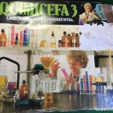 Juegos educativos: QUIMICEFA 3 LABORATORIO EXPERIMENTAL DE CEFA. Lote 135434942