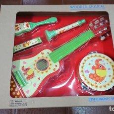 Juegos educativos: CONJUNTO MUSICAL INFANTIL, GUITARRA, FLAUTA, ARMÓNICA ETC. . Lote 136354338