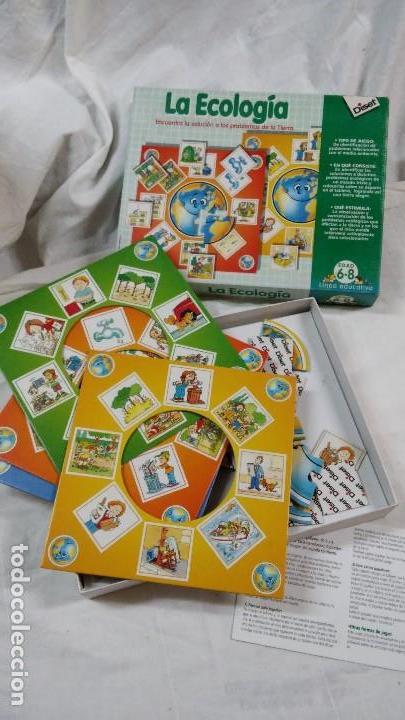 Juego De Mesa Educativo La Ecologia 6 Comprar Juegos