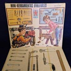 Juegos educativos: ANTIGUO JUEGO MINI HERRAMIENTAS UTILIZABLES DE CONESA,AÑOS 60. Lote 137980294
