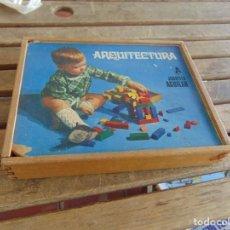 Juegos educativos: JUEGO EN MADERA ARQUITECTURA A JUGUETES AGUILAR . Lote 138096078