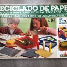Juegos educativos: JUEGO EDUCATIVO RECICLADO DE PAPEL MEDITERRANEO. Lote 139245074