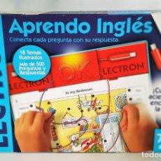 Juegos educativos: APRENDE INGLÉS. LECTRON - DISET - JUEGO DE MESA Y EDUCATIVO. Lote 139845402