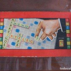 Juegos educativos: JUEGO DE MESA INTELECT. Lote 139930474
