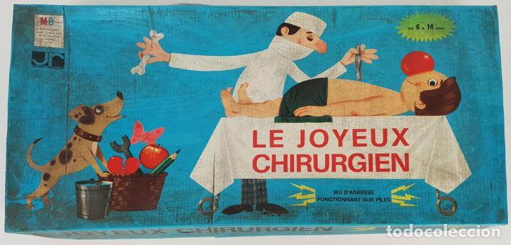 EL JUEGO DE CIRUJANOS. MB JUEGOS. FRANCIA. CAJA ORIGINAL. CIRCA 1960. (Juguetes - Juegos - Educativos)