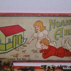 Juegos educativos: JUEGO DIORAMA,POP UP EL ARCA DE NOÉ. SET COMPLETO EN CARTÓN AÑO 1930. Lote 140079746