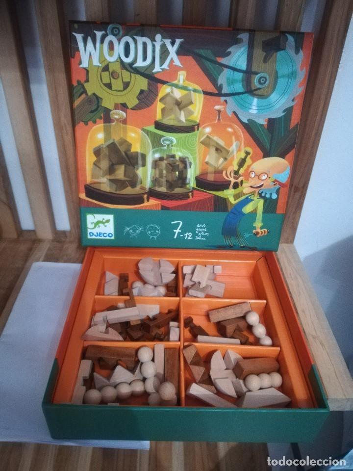 WoodixJuego Juegos PacienciaRompecabezas MaderaDjeco6 De Djeco dCoxBe