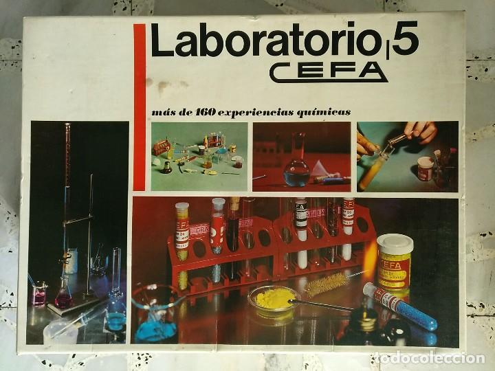 Laboratorio 5 Cefa Anos 70 Comprar Juegos Educativos Antiguos En