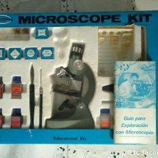 Juegos educativos: MICROSCOPE KIT SCOPE - MICROSCOPIO EDUCATIVO AÑOS 70. Lote 142145206