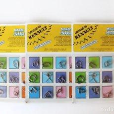 Juegos educativos: MAGIC PUZZLE. OBJETO DE COLECCIÓN. NUEVO, EN SU BLISTER ORIGINAL. MIDE 27 X 19 CM. RENAULT. Lote 142319326