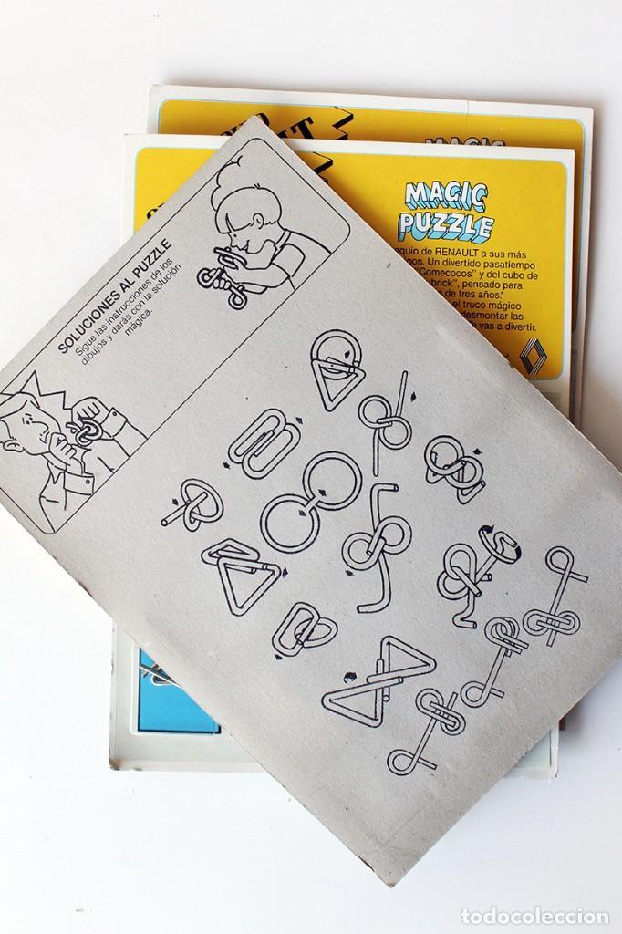 Juegos educativos: MAGIC PUZZLE. Objeto de colección. Nuevo, en su blister original. Mide 27 x 19 cm. Renault - Foto 4 - 142319326