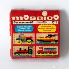 Juegos educativos: ANTIGUO JUGUETE PUZZLE MOSAICO, MARCA CARNEADO, MADE IN SPAIN. NÚMERO 011. NUEVO, SIN USO. Lote 142375698