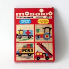 Juegos educativos: ANTIGUO JUGUETE PUZZLE MOSAICO, MARCA CARNEADO, MADE IN SPAIN. NÚMERO 021. NUEVO, SIN USO. Lote 142375902