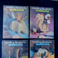 Juegos educativos: MONTA Y DECORA TU MASCOTA / 4 JUEGOS PRECINTADOS - MADERA ( RATON-PATO-TORTUGA-CARACOL ) EDUCA. Lote 142810426