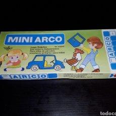 Juegos educativos: JUEGO EDUCATIVO MINI ARCO EN ESPAÑOL J. DOMINGO FERRER COMPLETO A ESTRENAR. Lote 143537184