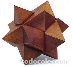 Juegos educativos: MENSA ROMPECABEZAS DE MADERA PUZZLES X 3 POCKET WOODEN HARDER EN CAJAS ORIGINALES NUEVOS SIN USO - Foto 5 - 215077672