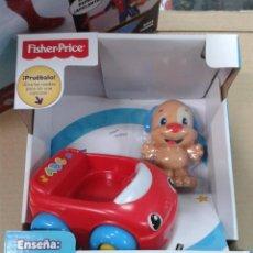 Juegos educativos: FISHER-PRICE COCHE PARLANCHÍN CON PERRITO (MATTEL). Lote 144211346