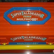 Juegos educativos: SUPER TALADRADOR - MULTIHOBBY- FEBER. Lote 185666021