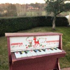 Juegos educativos: PIANO, JUEGOS MEDITERRANEO. Lote 145114886