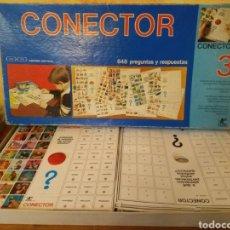 Juegos educativos: CONECTOR 3. Lote 146241785