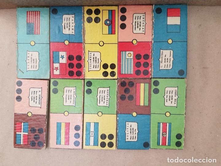 Juegos educativos: DOMINÓ DE LAS AMÉRICAS - Juego de mesa - Años 60 - Completo - Foto 2 - 146584110