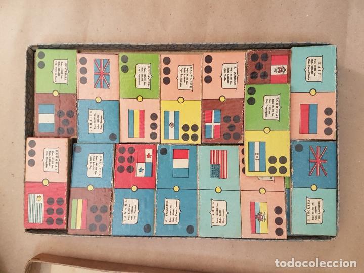 Juegos educativos: DOMINÓ DE LAS AMÉRICAS - Juego de mesa - Años 60 - Completo - Foto 3 - 146584110