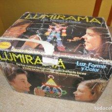 Juegos educativos: LUMIRAMA - LUZ, FORMA Y COLOR - MADEL - REF.200 -1980 FUNCIONANDO.. Lote 147390918
