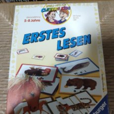 Juegos educativos: ERSTES LESEN - SPIELE - HITS FUR CLEVERE KIDS.. Lote 147497510