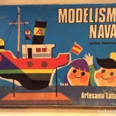 Juegos educativos: MODELISMO NAVAL SERIE INICIACIÓN ARTESANÍA LATINA VELERO. Lote 147560697