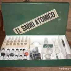 Juegos educativos: EL SABIO ATOMICO - NUEVO A ESTRENAR - MUY ANTIGUO JUEGO DE QUÍMICA - MUY DIFICIL . Lote 147606646