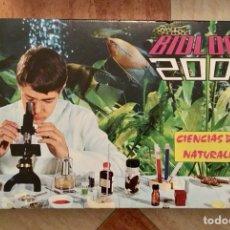 Juegos educativos: CIENCIAS DE LA NATURALEZA BIOLOGÍA 2000 (CON RANA EN FORMOL !!!) - GRAINES - 70S - NUEVO PRECINTADO. Lote 147622685