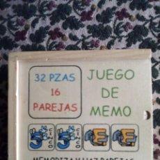 Juegos educativos: MEMORY DE MADERA 32 PIEZAS. Lote 147677862