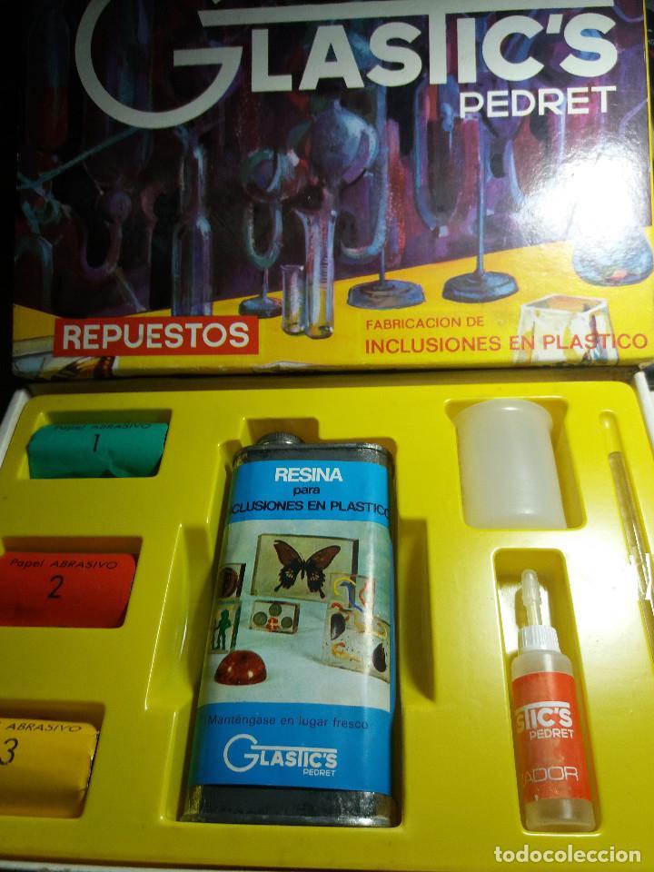 JUEGO * GLASTI'CS PEDRET ( REPUESTOS ) ( LEER DESCRIPCIÓN) (Juguetes - Juegos - Educativos)